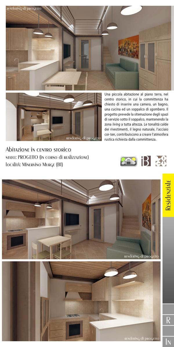 abitazione in centro storico - projects & works - contract in edilizia - ristrutturazioni - interior design - chiavi in mano - BAT - puglia