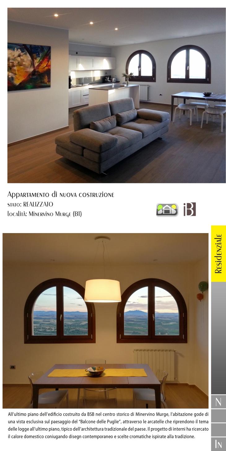 Appartamento di nuova coastruzione 2 - projects & works - nuove edificazioni - interior design - chiavi in mano - BAT - puglia