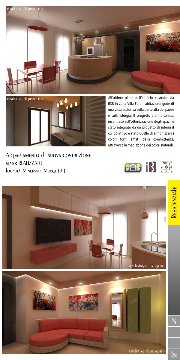 appartamento di nuova costruzione - projects & works - contract in edilizia - nuove edificazioni - chiavi in mano - BAT - puglia