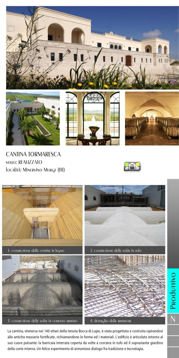 cantina TORMARESCA - projects & works - contract in edilizia - nuove edificazioni - chiavi in mano - BAT - puglia