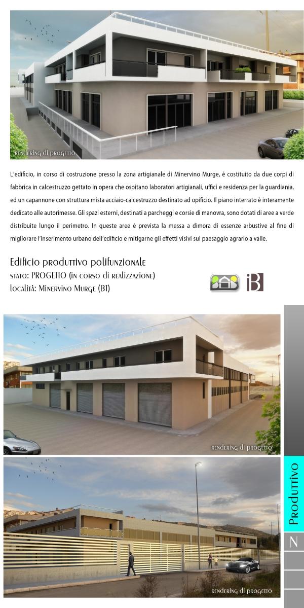 edificio produttivo polifunzionale 2 - projects & works - contract in edilizia - nuove edificazioni - chiavi in mano - BAT - Puglia