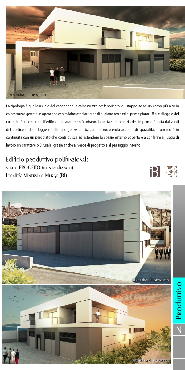 edificio produttivo polifunzionale - projects & works - contract in edilizia - nuove edificazioni - chiavi in mano - BAT - puglia