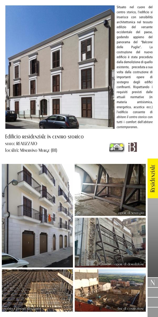 edificio residenziale in centro storico - projects & works - contract in edilizia - nuove edificazioni - chiavi in mano - BAT - puglia