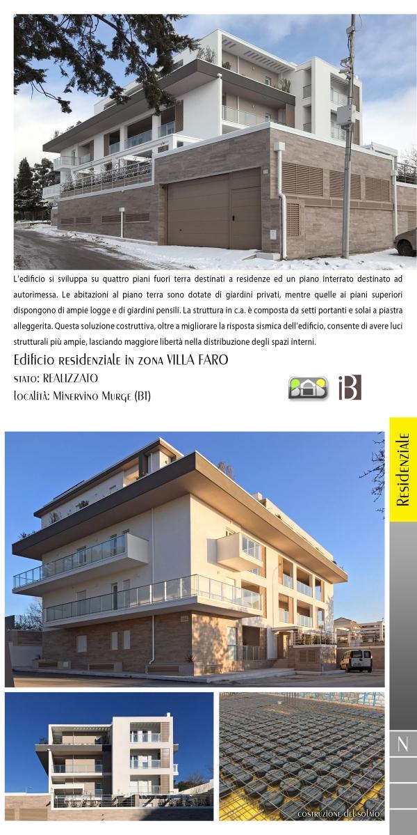 edificio residenziale in zona villa faro - projects & works - contract in edilizia - nuove edificazioni - chiavi in mano - BAT - puglia