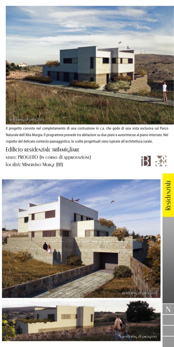 edificio residenziale trifamigliare - projects & works - contract in edilizia - nuove edificazioni - chiavi in mano - BAT - puglia