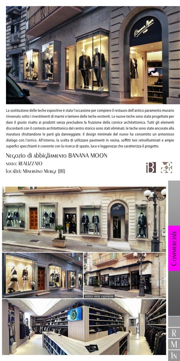 negozio di abbigliamento BANANA MOON - projects & works - contract in edilizia - ristrutturazioni - manutenzioni - interior design - chiavi in mano - BAT - puglia